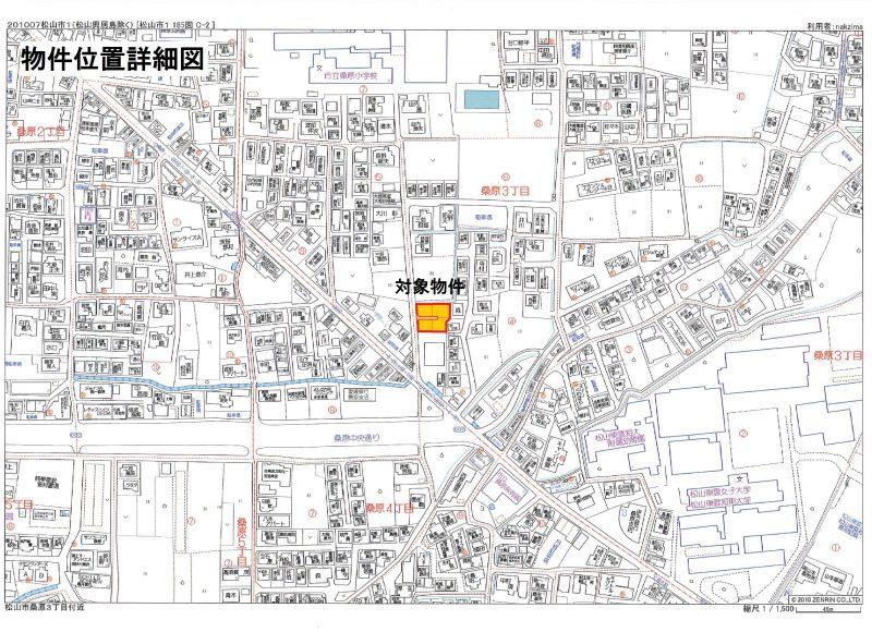 2物件位置詳細地図