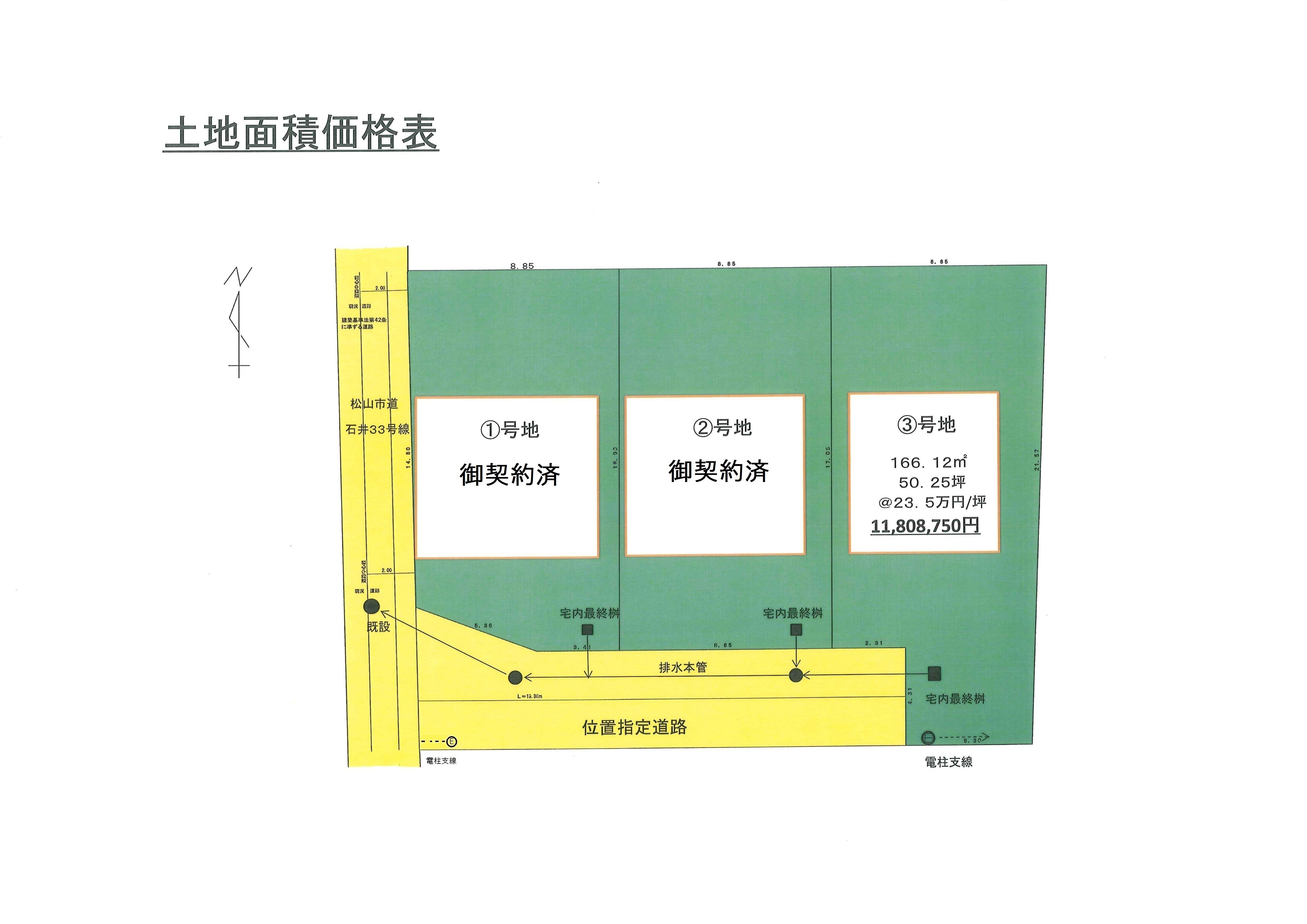 土地利用計画図 206価格表